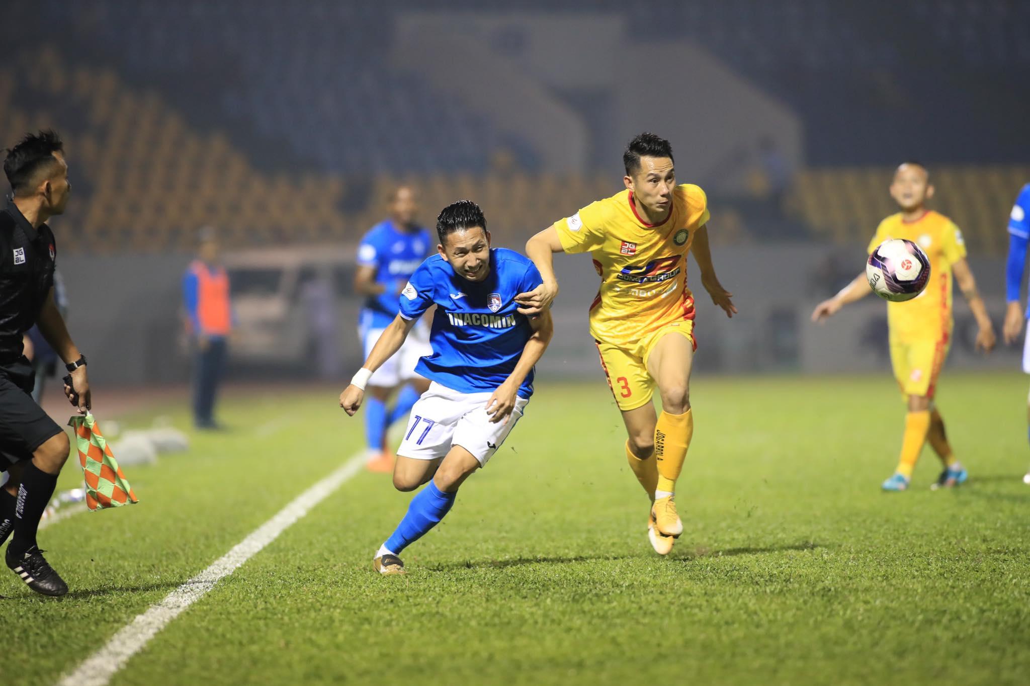 Nghiêm Xuân Tú sẽ khoác áo Than.QN gặp lại đội bóng anh đã thi đấu ở giai đoạn 2 V.League 2020 - Ảnh: Phan Tùng