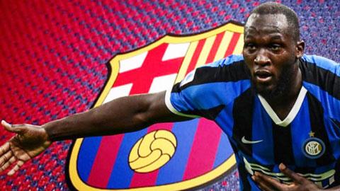 Lukaku trở thành mục tiêu chuyển nhượng số 1 của Barca