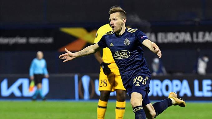 Mislav Orsic đang gây ấn tượng ở Dinamo Zagreb