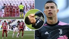 Ronaldo sút phạt ở Juventus: Thử kêu, đốt xịt
