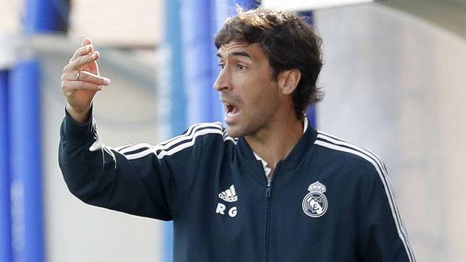 Cường độ là thứ Raul luôn đòi hỏi từ sân tập đến sân đấu