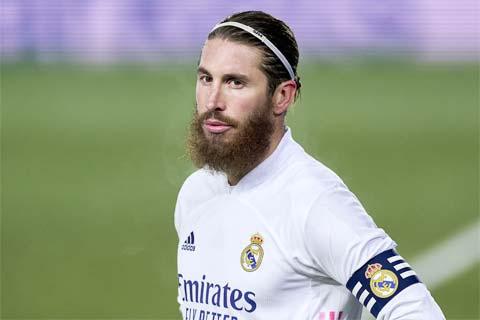 Ramos chỉ còn hợp đồng với Real đến cuối mùa giải này