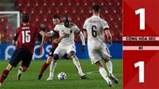 Cộng hòa Séc vs Bỉ: 1-1 (Bảng E vòng loại World Cup 2022)