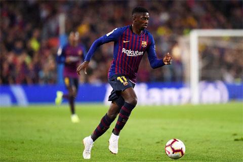 Ousmane Dembele chơi PlayStation còn hay hơn khi thi đấu trên sân trong màu áo Barca