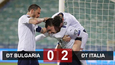 Bulgaria 0-2 Italia: Khởi đầu hoàn hảo