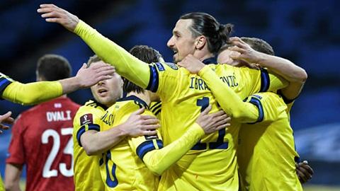 Vòng loại World Cup 2022: Thụy Điển, Thụy Sỹ, Ba Lan khởi đầu hoàn hả
