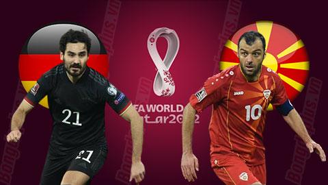 Nhận định bóng đá Đức vs Bắc Macedonia, 01h45 ngày 1/4: Khi chủ nhà vẫn bức bối...