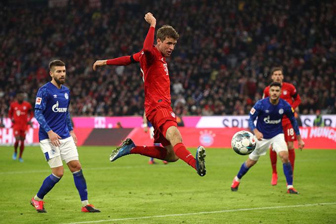 Muller luôn có mặt ở các vị trí mà ít ai nghĩ đến