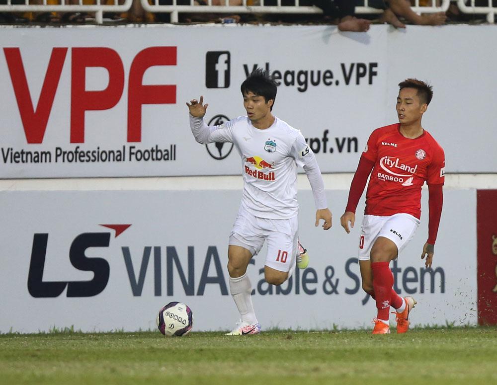 Công Phượng và HAGL đang thể hiện phong độ cao ở V.League 2021 - Ảnh: VPF