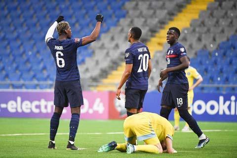 Chiến thắng vừa đủ trên sân của Kazakhstan mới đây mang về cho ĐT Pháp nhiều điều thuận lợi
