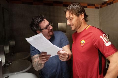 Totti diễn xuất rất tốt