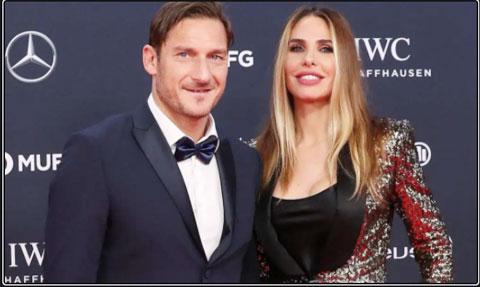 Totti được bà xã tư vấn thêm diễn xuất