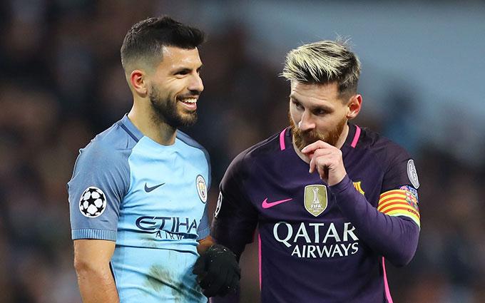 Aguero sẽ sát cánh cùng Messi mùa giải tới tại Barca?