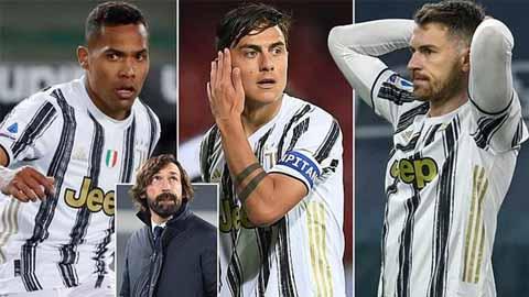Kế hoạch đập đi xây mới đội hình của Juventus