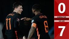 Gibraltar vs Hà Lan: 0-7 (Bảng G vòng loại World Cup 2022)
