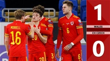 Wales vs CH Czech: 1-0 (Bảng E vòng loại World Cup 2022)