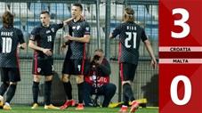 Croatia vs Malta: 3-0 (Bảng H vòng loại World Cup 2022)