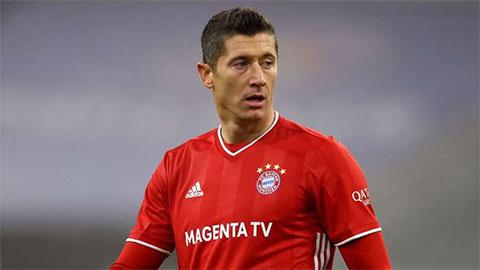 Bayern mất Lewandowski ở cả hai trận đại chiến với PSG