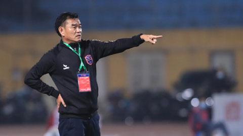 Than.QN vs B.BD: Ngày về của 'coach Hùng'