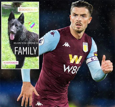 Jack Grealish mua một chú chó chăn cừu Bỉ để bảo vệ an ninh