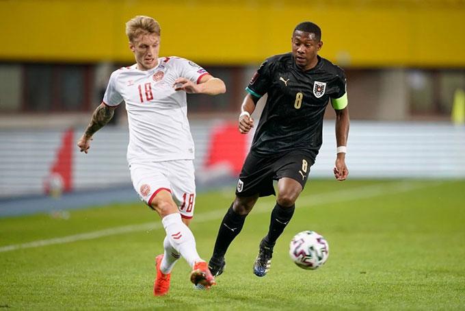 Đan Mạch đang là đội bóng chơi ấn tượng nhất