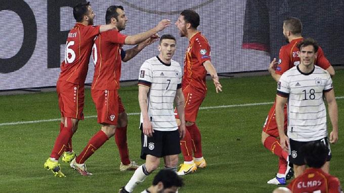 Đức thua sốc Bắc Macedonia ngay trên sân nhà