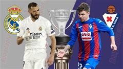 Nhận định bóng đá Real Madrid vs Eibar, 21h15 ngày 3/4