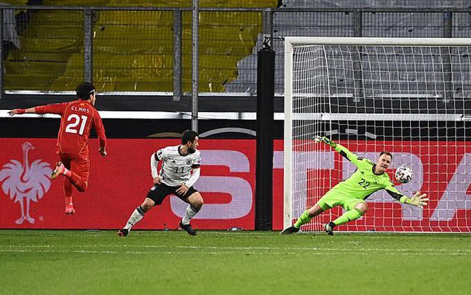 Elmas ấn định tỷ số 2-1 trận Đức vs Bắc Macedonia