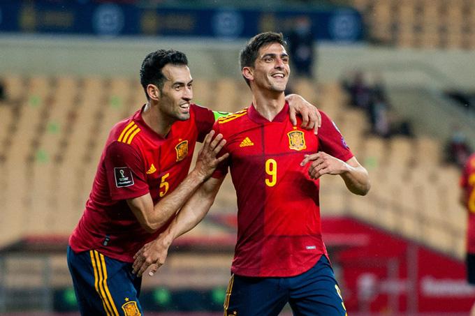 Moreno ấn định tỷ số 3-1 trận Tây Ban Nha vs Kosovo