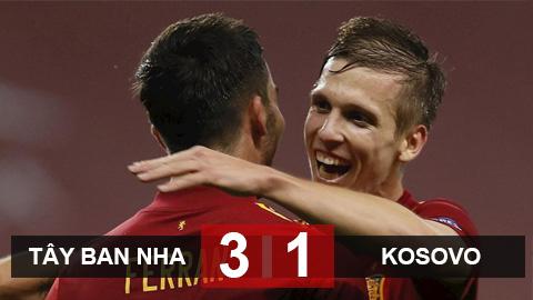 Tây Ban Nha 3-1 Kosovo: Đổ bê tông vào ngôi đầu