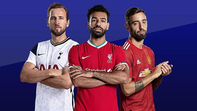 Kane, Salah và Fernandes đang cạnh tranh ngôi Vua phá lưới