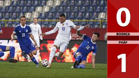 Bosnia vs Pháp: 0-1 (Vòng loại World Cup 2022)