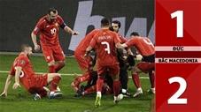 Đức vs Bắc Macedonia: 1-2 (Bảng J vòng loại World Cup 2022)