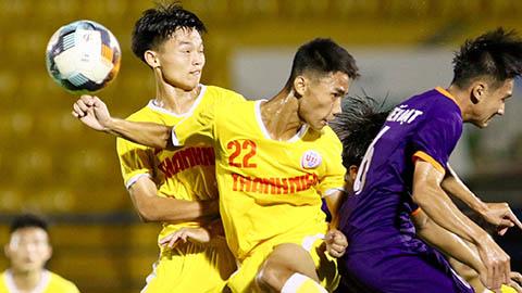 U19 SLNA thua sốc trước Bình Dương