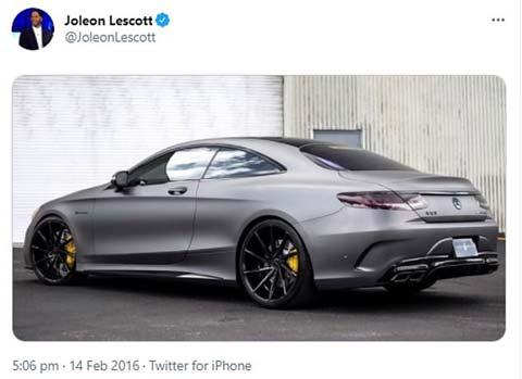 Lescott khoe xe mới ngay sau thảm bại của Aston Villa