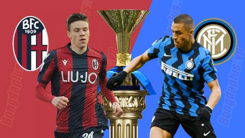 Bologna 0-1 Inter: Bỏ xa Milan và Juventus