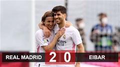 Kết quả Real Madrid vs Eibar: Benzema lại 'nổ súng', Real vững tin tái ngộ Liverpool