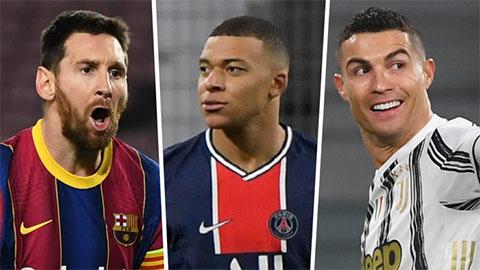 Tại sao Kylian Mbappe tự nhận mình xuất sắc hơn Messi và Ronaldo?