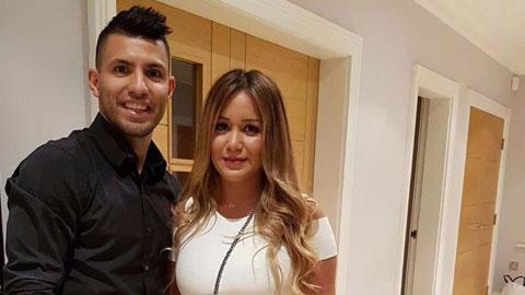 Aguero từng cặp kè với Karina