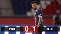 PSG 0-1 Lille: Neymar bị đuổi khi vừa tái xuất, PSG để Lille chiếm ngôi đầu BXH
