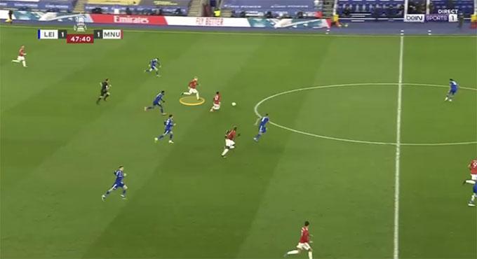 Van de Beek hoàn toàn có thể chuyền nhanh cho Pogba