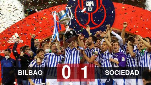Bilbao 0-1 Sociedad: Chức vô địch đặc biệt giành cho Sociedad