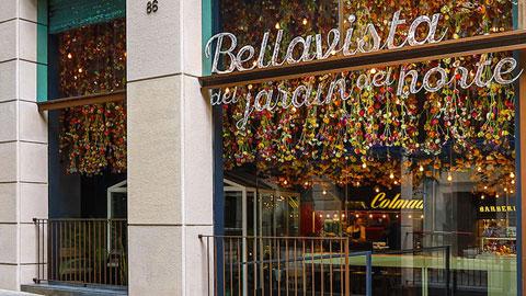 Bên ngoài nhà hàng Bellavista del Jardin del Norte của Messi