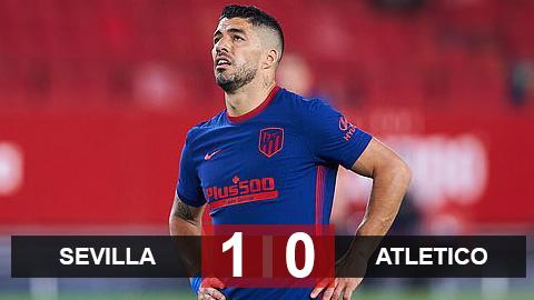 Sevilla 1-0 Atletico: Báo động đỏ cho Rojiblanco