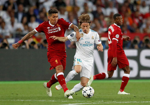 Firmino (trái) và đồng đội có thể kiếm được một trận hòa trên sân của Real Madrid