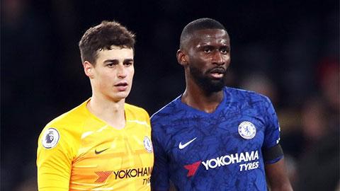 Antonio Ruediger va chạm với Kepa là ... điều tốt cho Chelsea!