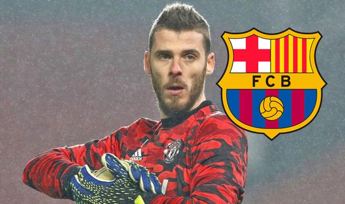 Khả năng De Gea gia nhập Barca không cao lắm