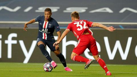 PSG (trái) vẫn rất khó vượt qua rào cản mang tên Bayern