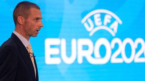 EURO 2020 sẽ diễn ra trên sân có khán giả