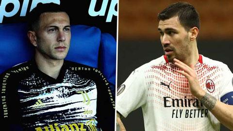 Juventus và Milan lên kế hoạch đổi người đầy táo bạo
